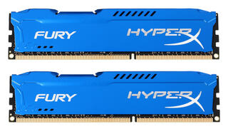 Оперативная память Kingston HyperX FURY Blue Series [HX313C9FK2/8] 8 Гб