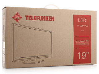 "18.5"" (47 см)  LED-телевизор Telefunken TF-LED19S30 черный"