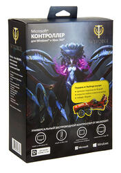 Геймпад Microsoft Xbox360 for Windows Skyforge черный