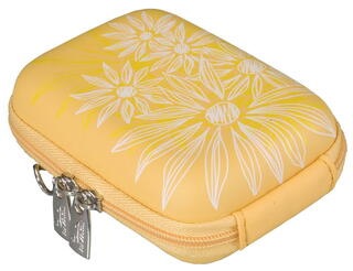Чехол Riva 7023 (PU) Digital Case yellow (flowers) желтый