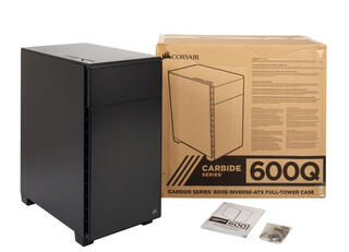 Корпус Corsair Carbide Series Clear 600Q черный