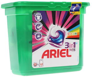 Капсулы Ariel Liquid Capsules Color & Style