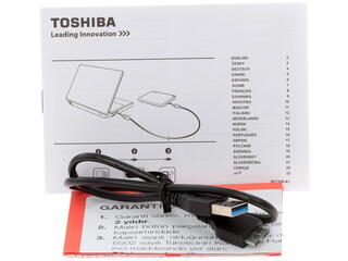 "2.5"" Внешний HDD Toshiba CANVIO Connect II [HDTC830EK3CA]"