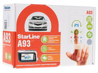 Автосигнализация StarLine A93 CAN+LIN ECO