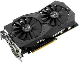 Видеокарта ASUS GeForce GTX 1050 Ti STRIX [STRIX-GTX1050TI-4G-GAMING]