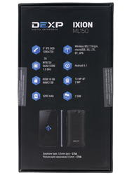"5"" Смартфон DEXP Ixion ML150 Amper M 16 Гб черный"