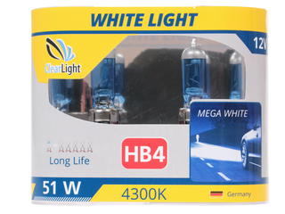 Галогеновая лампа ClearLight HB4 WhiteLight