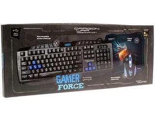 Клавиатура+мышь Qumo Gamer Force