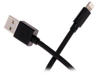 Кабель INTERSTEP IS-DC-IPH5MFICL-000B201 USB - Lightning 8-pin