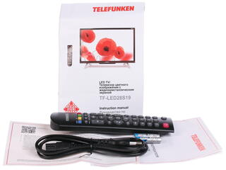 "27.5"" (70 см)  LED-телевизор Telefunken TF-LED28S19 черный"