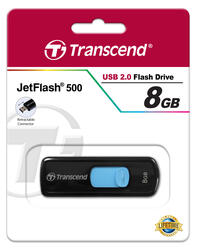 Память USB Flash Transcend JetFlash 500 8 Гб