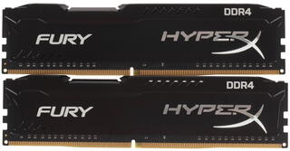 Оперативная память Kingston HyperX FURY Black Series [HX421C14FB2K2/16] 16 ГБ