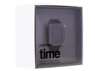 Смарт-часы Pebble Time черный