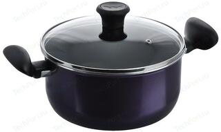 Кастрюля Tefal 04033322 Tendance Black Current черный, синий