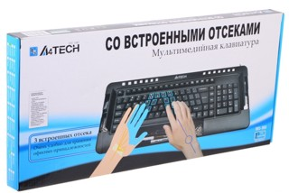 Клавиатура A4Tech KBS-960 Ergo Multimedia