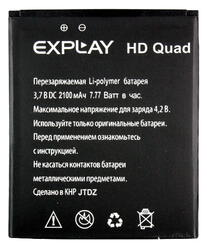 Аккумулятор Partner Explay HD Quad
