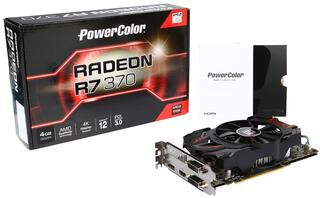 Видеокарта Powercolor AMD Radeon R7 370 [AXR7 370 4GBD5‐DHE/OC]