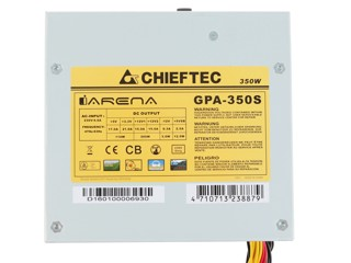 Блок питания Chieftec iARENA Series 350W [GPA-350S]