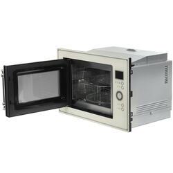 микроволновая печь встроенная бежевая