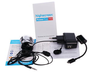 "5"" Смартфон Highscreen Power Five PRO 16 ГБ серый"