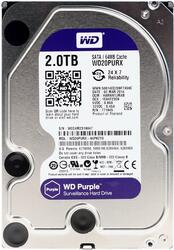 2 ТБ Жесткий диск WD Purple IntelliPower [WD20PURX]