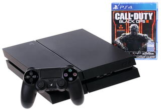 Игровая приставка PlayStation 4 + Call of Duty: Black Ops 3