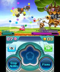 Игра для 3DS Kirby Planet Robobot