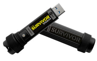 Память USB Flash Corsair Survivor Stealth  16 Гб