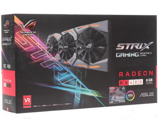 Видеокарта ASUS AMD Radeon RX 480 STRIX OC [STRIX-RX480-O8G-GAMING]