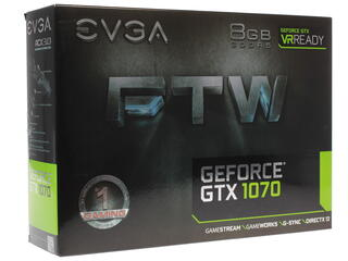 Видеокарта EVGA GeForce GTX 1070 FTW GAMING ACX 3.0 [08G-P4-6276-KR]