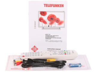 "23.6"" (59 см)  LED-телевизор Telefunken TF-LED24S21T2 белый"