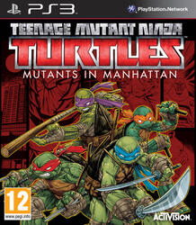 Игра для PS3 Teenage Mutant Ninja Turtles: Mutants in Manhattan