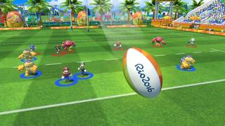 "Игра для Wii U ""Mario & Sonic at Rio 2016 Olympic games"""
