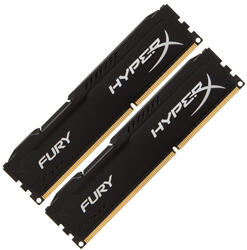 Оперативная память Kingston HyperX FURY Black Series [HX318C10FBK2/16] 16 Гб