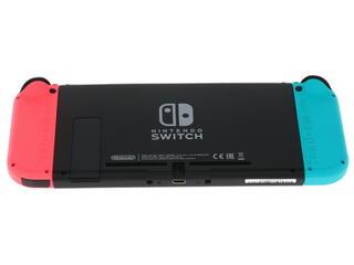 Игровая пришивание Nintendo Switch 02 GB Neon Red/Blue