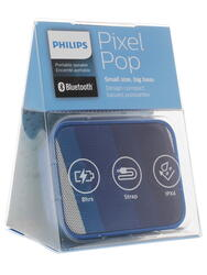 Портативная колонка Philips BT110A/00 PixelPop синий