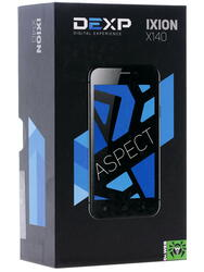 "4.2"" Смартфон DEXP Ixion X140 Aspect 8 ГБ черный"