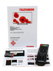 "31.5"" (80 см)  LED-телевизор Telefunken TF-LED32S39T2S черный"