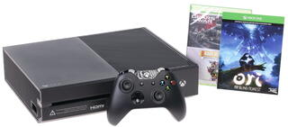 Игровая приставка Microsoft Xbox One 1 Tb + Gears of War Ultimate Edition, Rare Replay, Ori and the Blind Forest