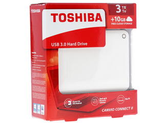 "2.5"" Внешний HDD Toshiba CANVIO Connect II [HDTC830EW3CA]"