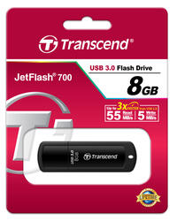 Память USB Flash Transcend JetFlash 700 8 Гб