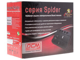 ИБП Powercom SPIDER SPD-650U