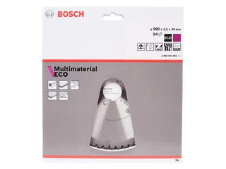 Диск пильный Bosch Multi ECO 2608641802