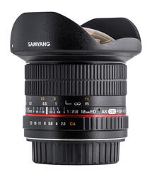 Объектив Samyang 12mm F2.8 ED AS NCS Fish-eye