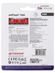 Память USB Flash Transcend JetFlash 790K 64 Гб
