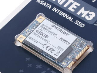 480 ГБ SSD-накопитель Patriot MSATA Ignite [PI480GSM3SSDR]