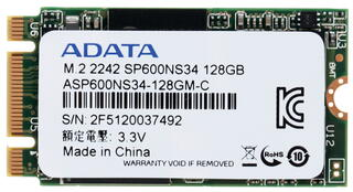 128 ГБ SSD M.2 накопитель AData SP600 [ASP600NS34-128GM-C]