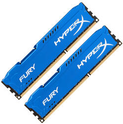 Оперативная память Kingston HyperX FURY Blue Series [HX318C10FK2/8] 8 ГБ
