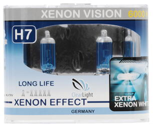 Галогеновая лампа ClearLight H7 XenonVision