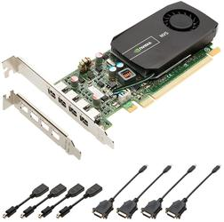 Видеокарта PNY NVIDIA NVS 510 for Quad DVI Low Profile [VCNVS510DVI-PB]